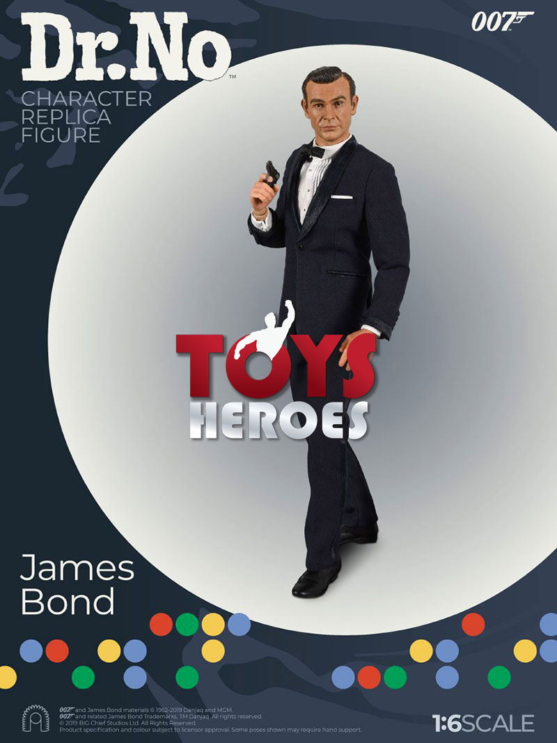 NO JAMES BOND 007 Coupon BIG CHIEF STUDIOS 007 DR
