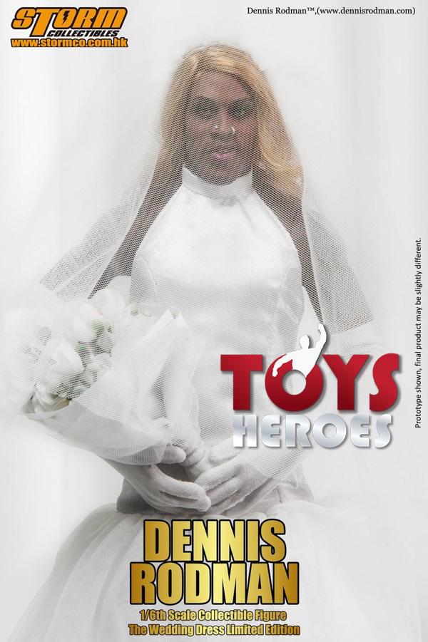 STORM COLLECTIBLES DENNIS RODMAN THE WEDDING DRESS SPECIAL EDITION 500PZ Availab