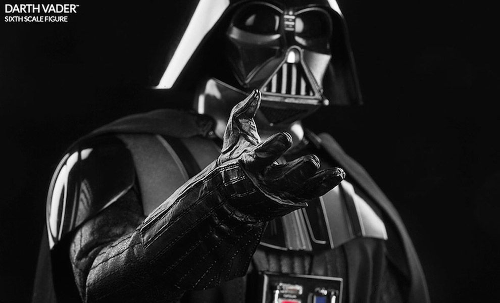 SIDESHOW STAR WARS DARTH VADER SIXTH SCALE FIGURE