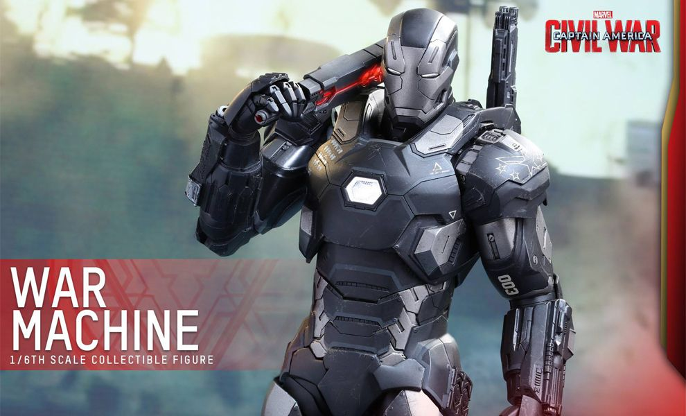 HOT TOYS MMS344D15 CAPTAIN AMERICA CIVIL WAR WAR MACHINE