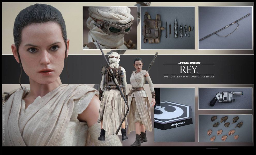 HOT TOYS MMS336 STAR WARS VII The Force Awakens REY