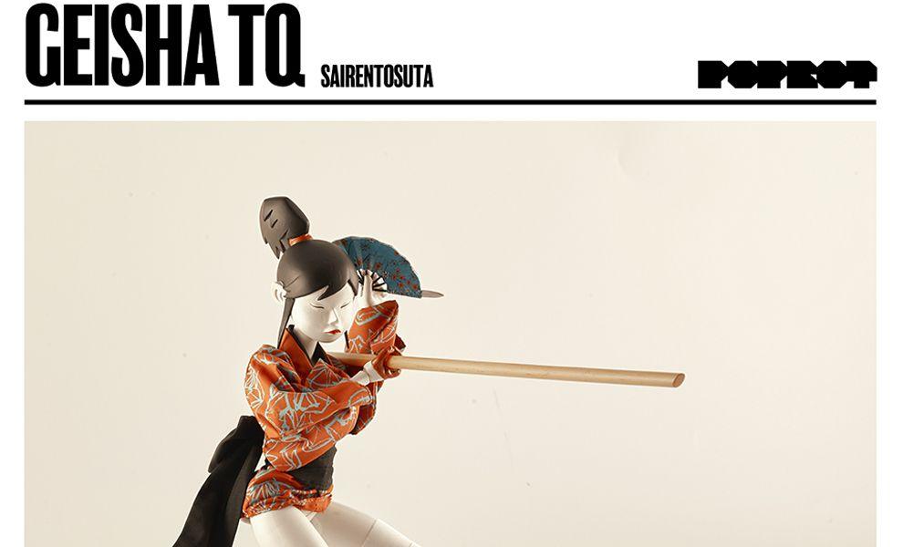 3A THREEA GEISHA TQ SAIRENTOSUTA RED CLOTHING 1/6th Scale Collectible Figure