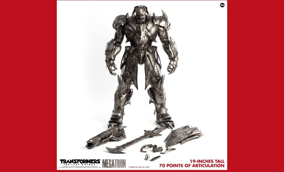 3A TOYS 3A18103-DV Transformers The Last Knight Megatron Deluxe version