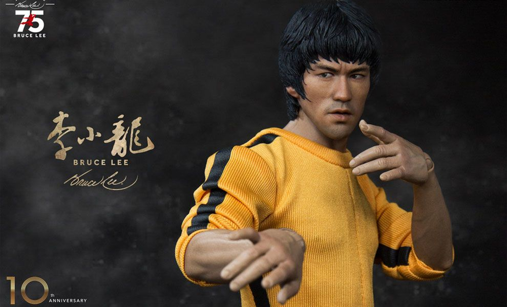 Enterbay RM-1127 Real Masterpiece – Bruce Lee 75th Anniversary Action Figure 1/6
