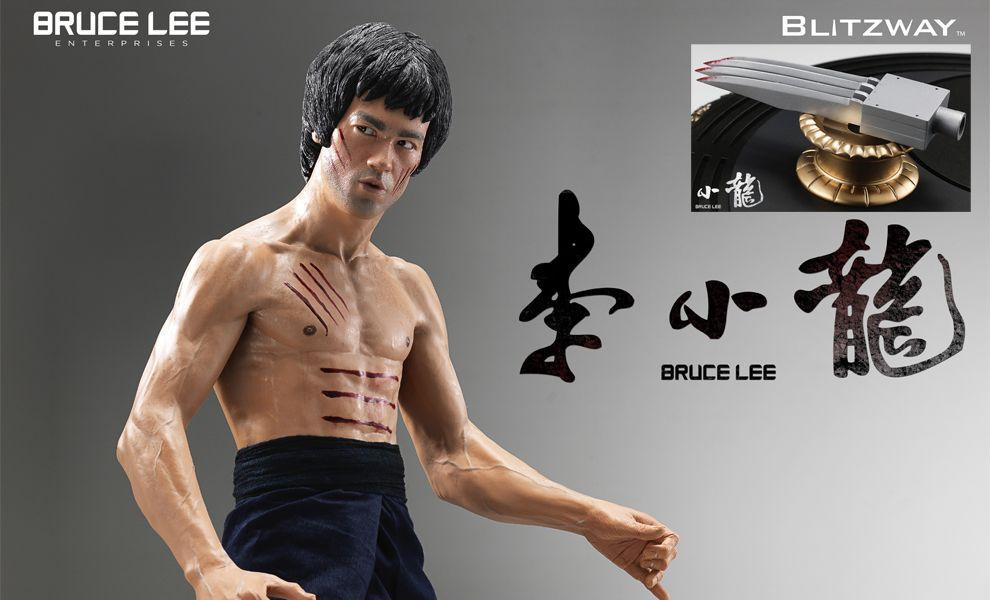 BLITZWAY BW-ISS2102 HS BRUCE LEE TRIBUTE STATUE VERSION 2 1/3 SECRET GIFT