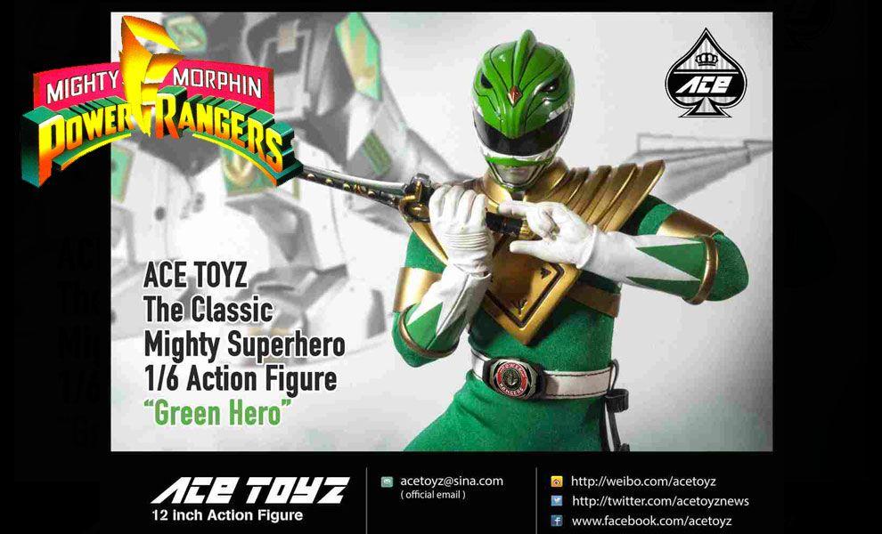 ACE Toyz CMSH–06 Green Hero Power Rangers The Classic Mighty Super Hero