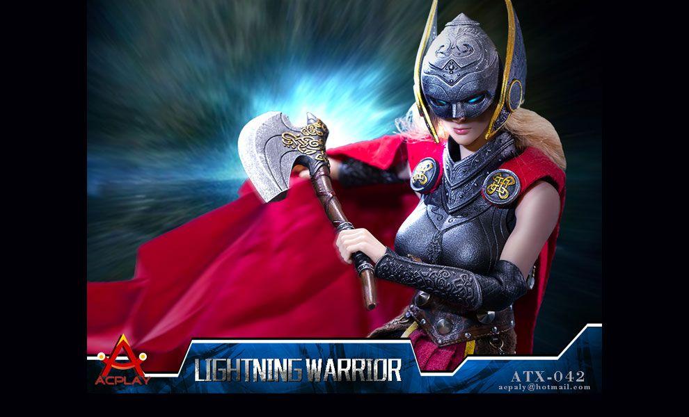 ACPLAY ATX042  Lightning Warrior suit with head