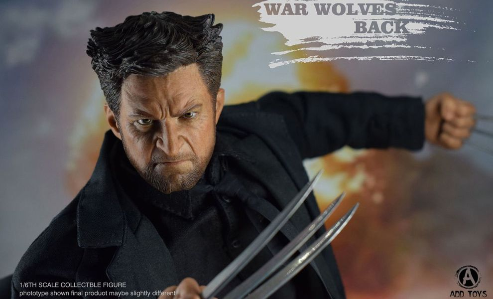 ADD TOYS AD02 WAR WOLVE SUIT VERSION WOLVERINE