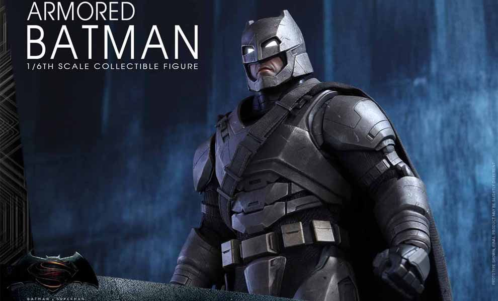 Hot Toys mms349 Batman v Superman Dawn of Justice Armored Batman