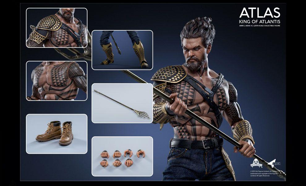 Art Figure AI-005 King of Atlantis ATLAS Aquaman Jason Momoa