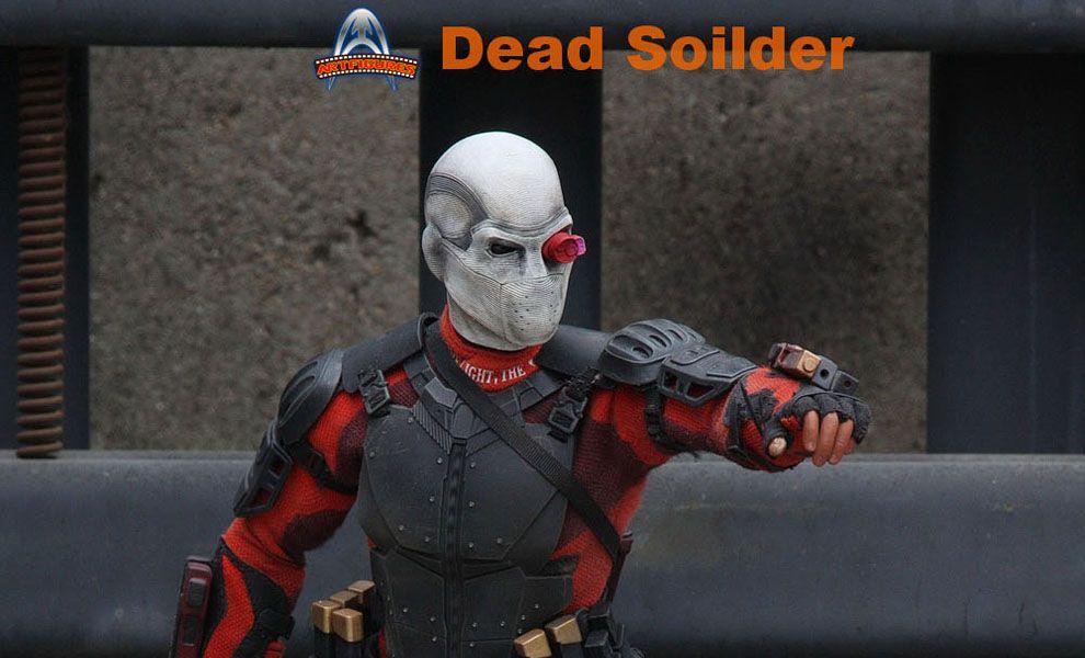 ART FIGURES AF-021 SUICIDE SQUAD DEADSHOT WILL SMITH DEAD SOILDER