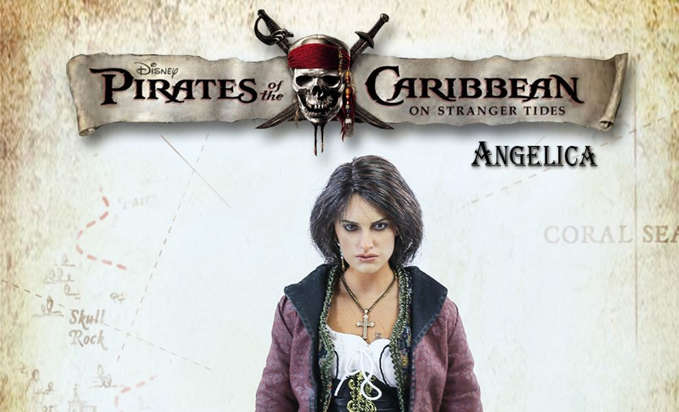 AS TOYS AS41 PIRATES OF THE CARIBBEAN ANGELICA 1/6th