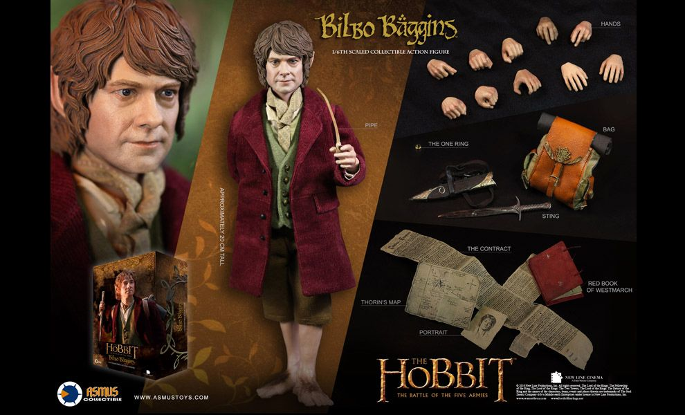 ASMUS-TOYS-HOBT07-The Hobbit: An Unexpected Journey-THE-LORD-OF-THE-RINGS-BILBO-BAGGINS