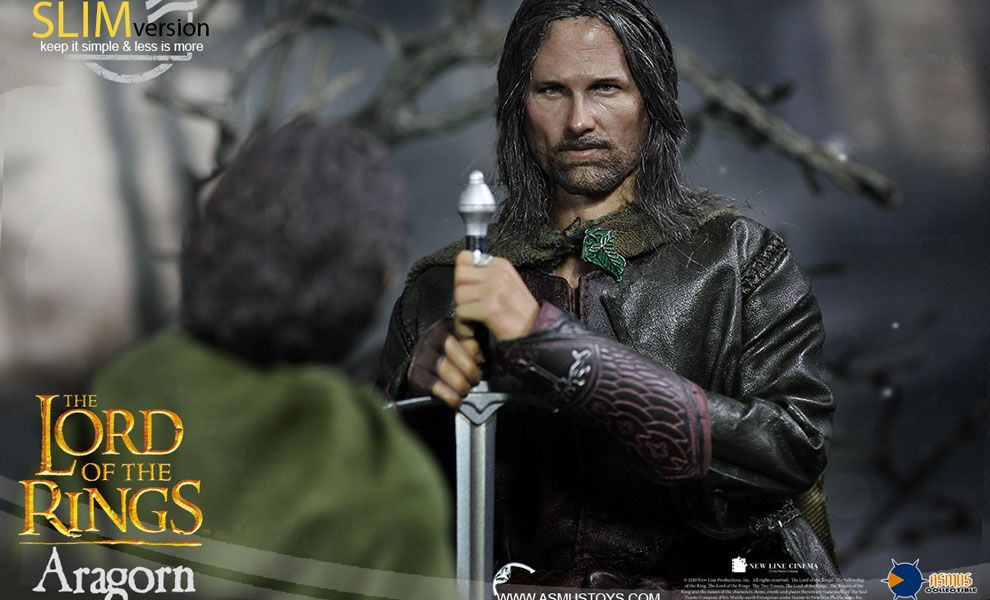 Asmus Toys LOTR008s The Lord of the Rings Series Aragorn Slim Version