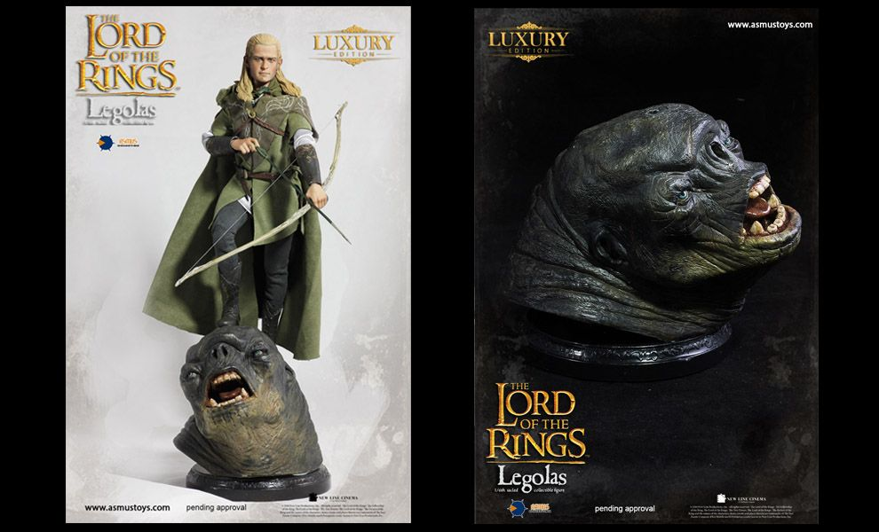 ASMUS TOYS LOTR010LUX LUXURY EDITION THE LORD OF THE RINGS LEGOLAS