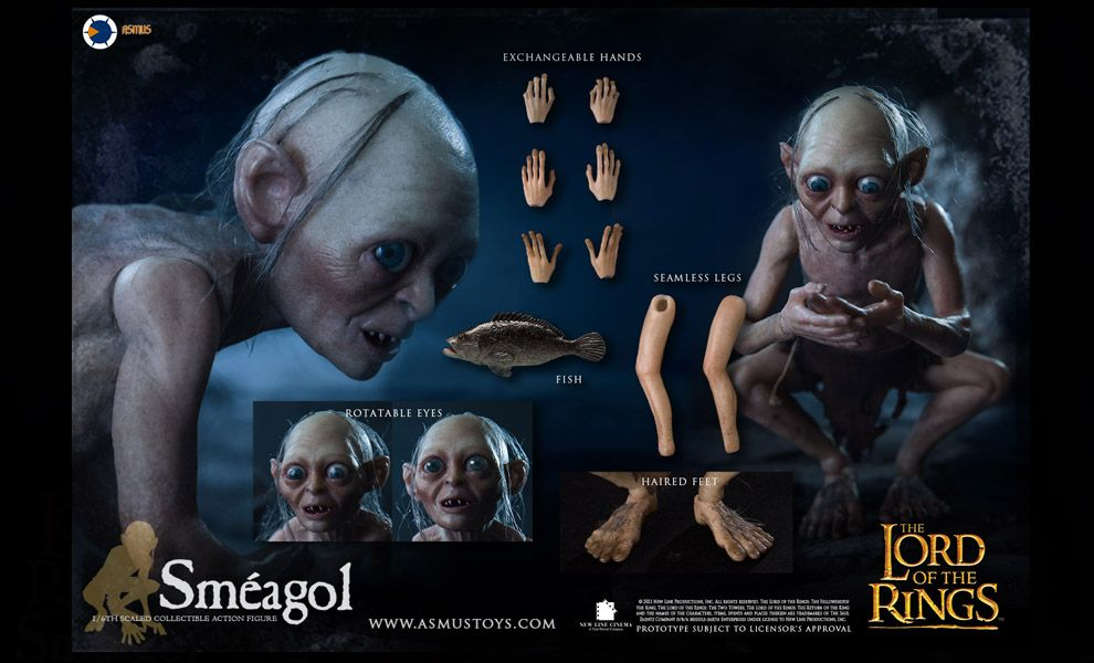 Asmus toys LOTR030S Sméagol 1/6 Lord of the Rings Banner