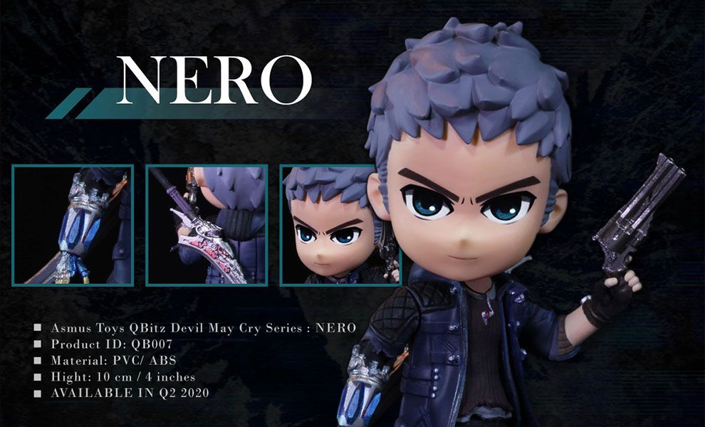 ASMUS TOYS QBITZ DEVIL MAY CRY SERIES NERO 5 LIMITED ARTICULATION FIGURE