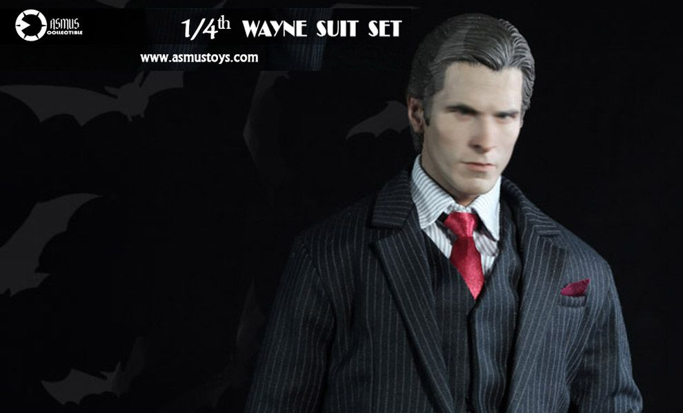 ASMUS TOYS SM28 1/4 THE DARK KNIGHT WAYNE SUIT SET