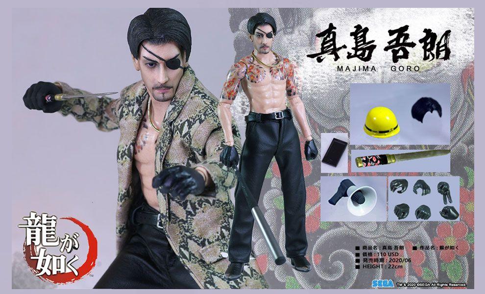 Asmus Toys YAKU02A MAJIMA GORO Yakuza Ultimate 8 Yakuza