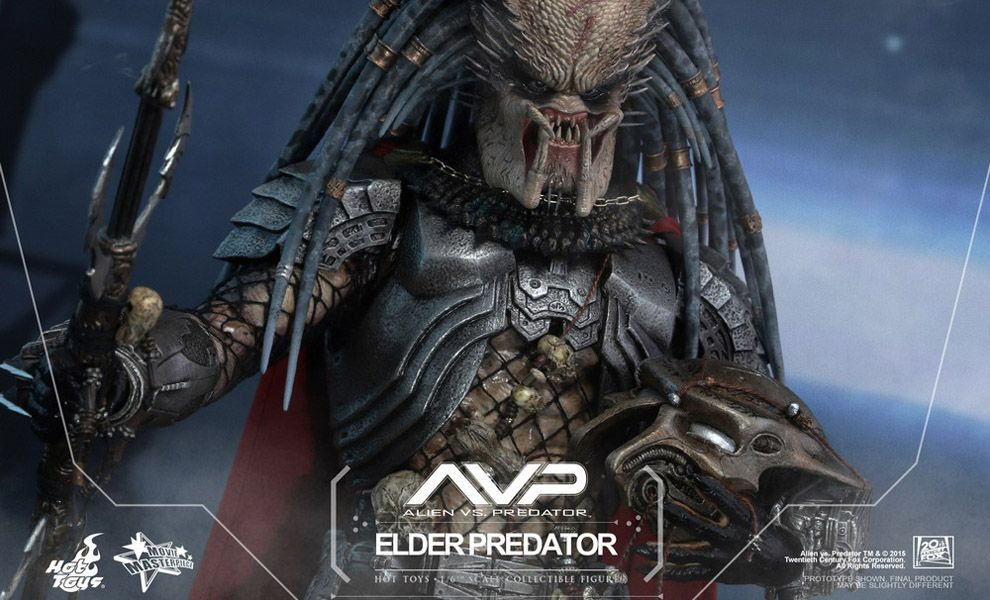 HOT TOYS MMS325 AVP ELDER PREDATOR