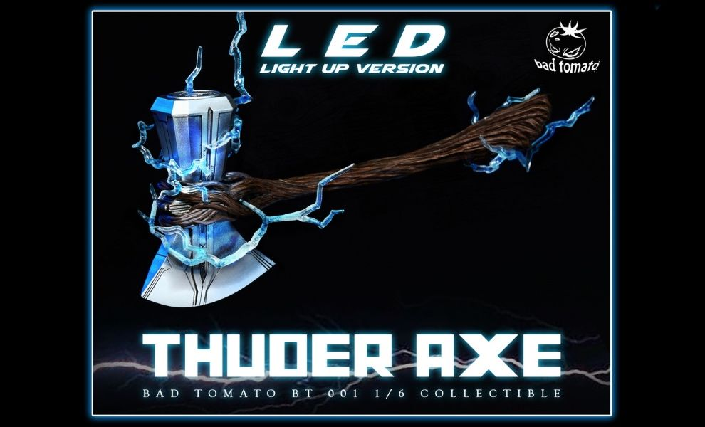 Bad Tomato BT 001A 1/6 Thuder Axe Led Light Up Version Thor Infinity War
