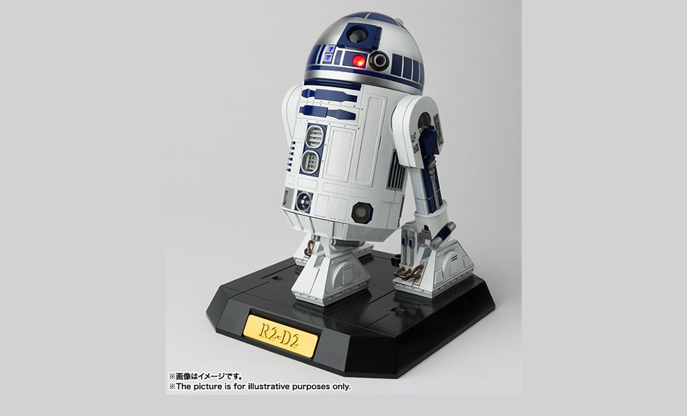 BANDAI PERFECT MODEL STAR WARS R2D2