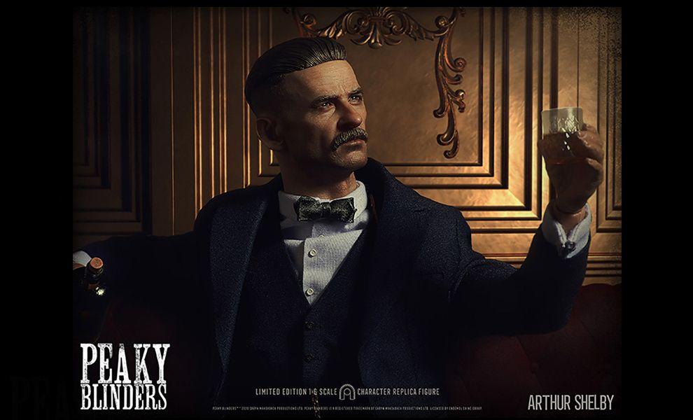 BIG CHIEF PEAKY BLINDERS ARTHUR SHELBY BANNER