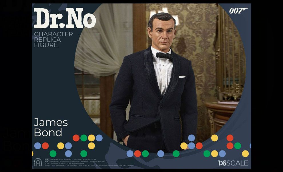 Big Chief Studios Dr. No Agent 007 James Bond Sean Connery Dr. No Limited Edition