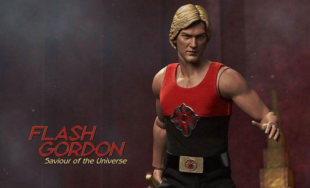 Big Chief Studios Flash Gordon Action Figure 1/6 Flash Gordon Limited Edition Banner
