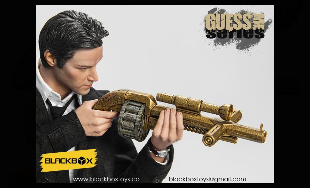 Black Box BBT9001 Constantine Guess Me Series Keanu Reeves Constantine Banner