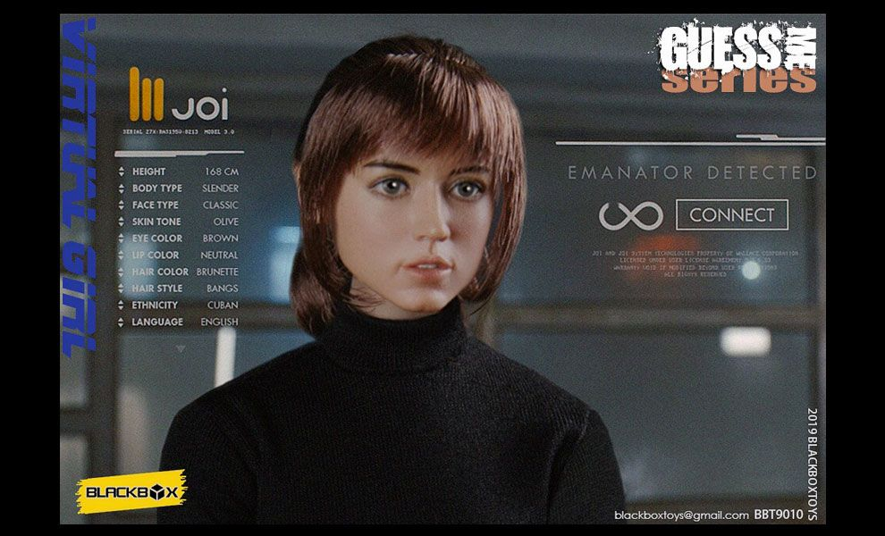 BLACKBOX-BBT9010-GUESS-ME-SERIES-VIRTUAL-GIRL-JOI-ANA-DE-ARMAS