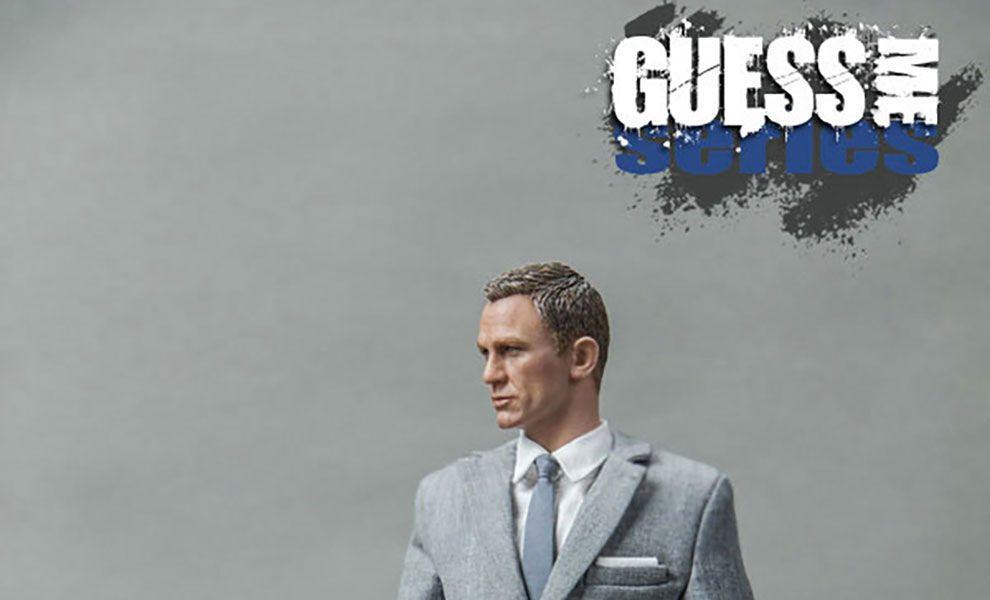 Blackbox Toys BB9002B AGENT 007 GUESS ME SERIES Agent James Grey Suit Agent James Bond