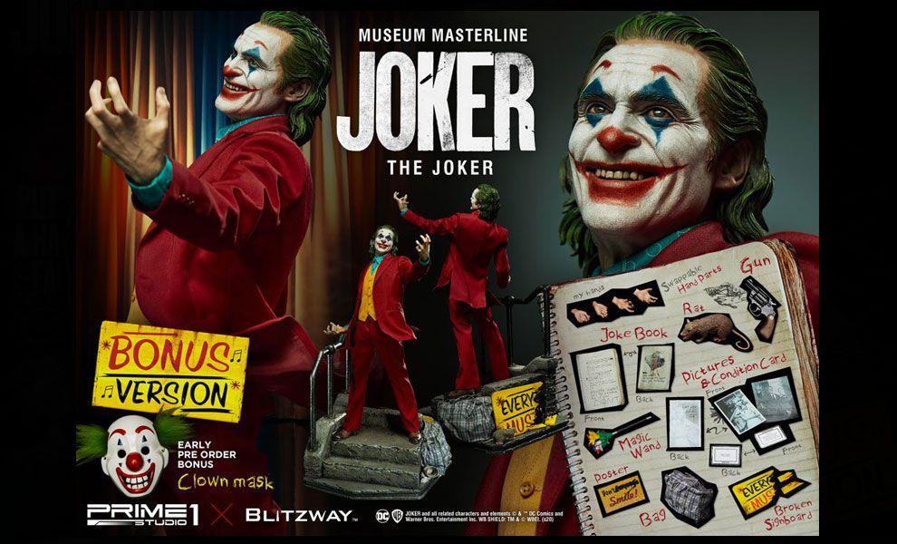 BLITZWAY PRIME STUDIO 1 MMJK-01S MUSEUM MASTERLINE JOKER JOKER FILM 2019 STATUA