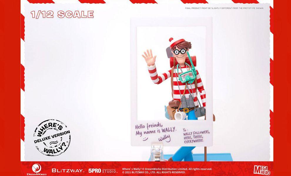 Blitzway Where's Wally? Mega Hero Action Figure 1/12 Wally DX Version banner