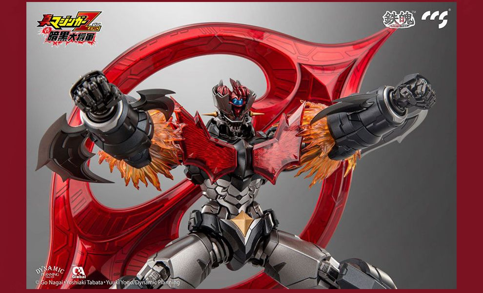 CCS TOYS Shin Mazinger ZERO vs. Great General of Darkness Action Figure Mazinger ZERO Banner