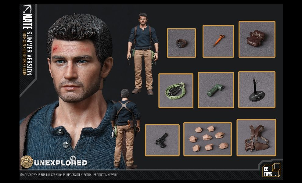 CCTOYS CCT01 UNCHARTED NATHAN DRAKE UNEXPLORED