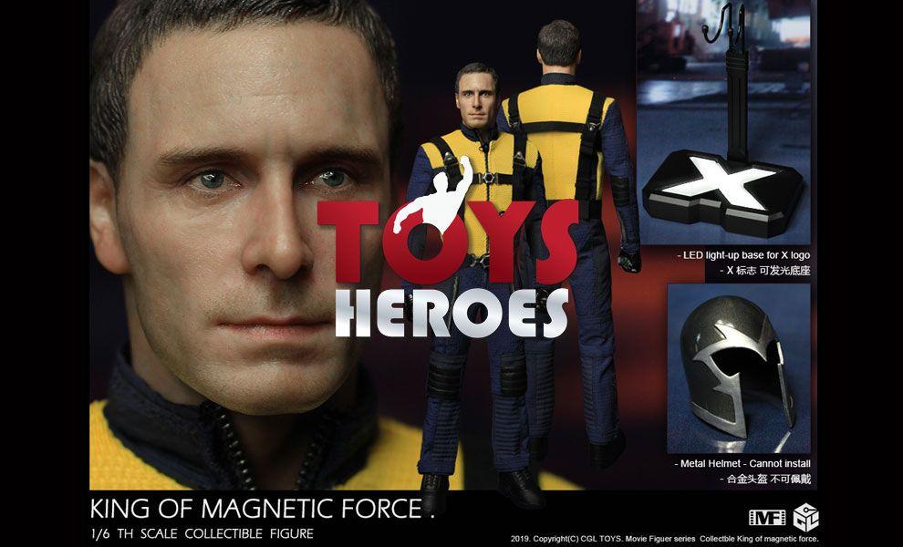 CGL TOYS MF14 Erik Lenhsherr Magneto Michael Fessbender King of Magnetic Force Battle Suit