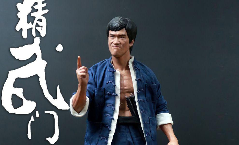 CHINA.X-H CX-H NO.4 1/61/6 Bruce Lee Jingwumen Banner