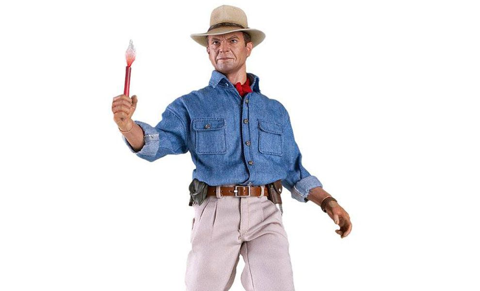Chronicle Collectibles Jurassic Park Action Figure Dr. Alan Grant Action figures Jurassic Park Banner
