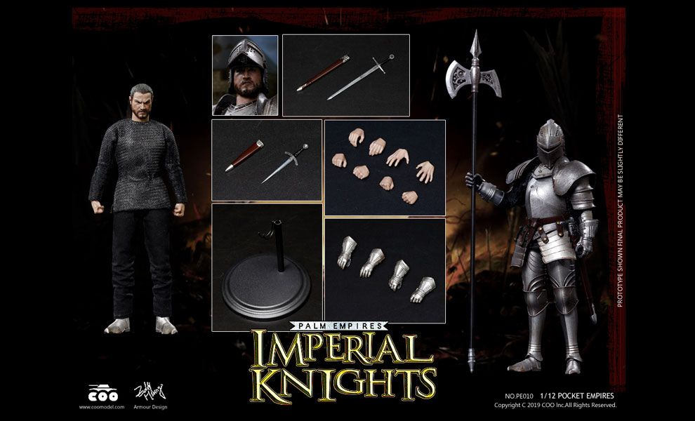 COOMODEL-PE010-PALM-EMPIRES-1/12-IMPERIAL-KNIGHT
