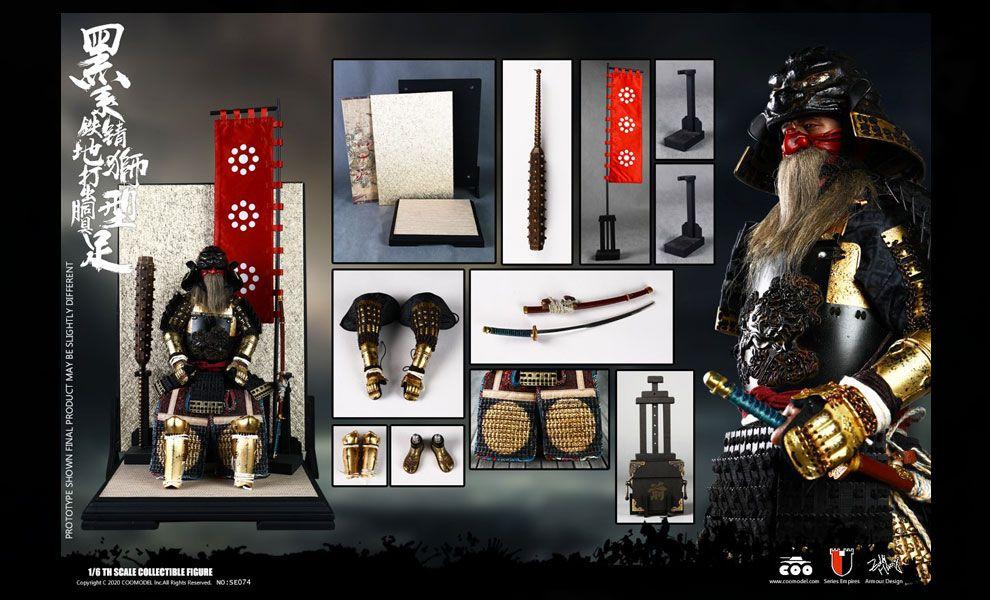 COOMODEL SE074 SERIES OF EMPIRES DIECAST ALLOY BLACK LION ARMOR LEGENDARY VERSION banner