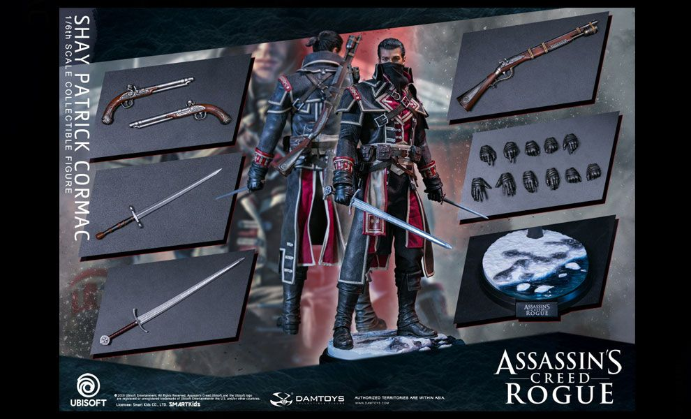 Damtoys Dms011 Assassin S Creed Rogue Shay Patrick Cormac