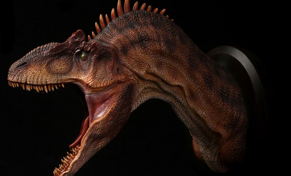 DamToys-MUS010A-Jurassic-Park-Allosaurus-Bust-Collectible-Statue