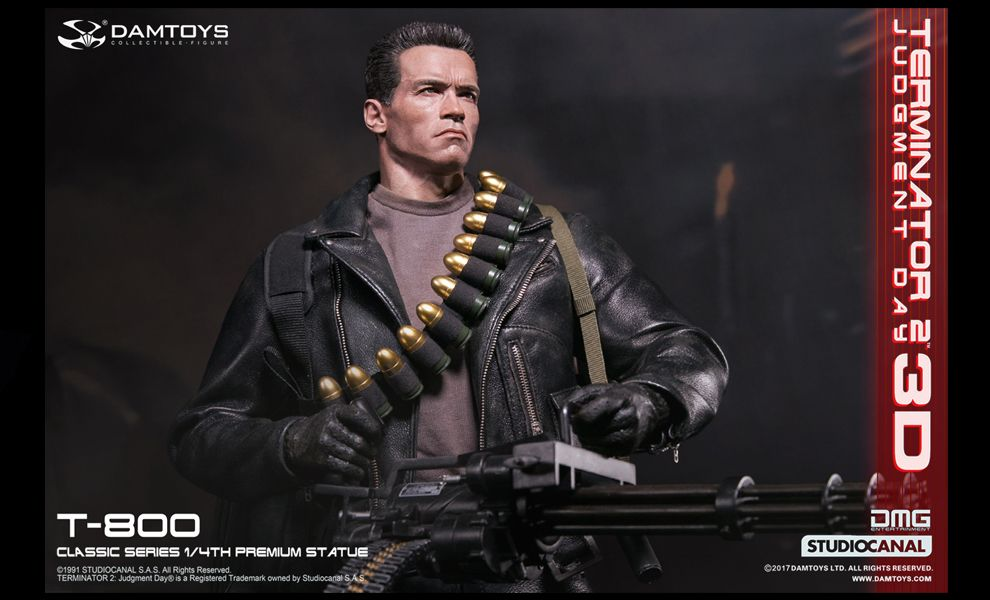 DAMTOYS NO.CS001 CLASSIC SERIES 1/4th SCALE T-800 TERMINATOR 2 Judgment Day