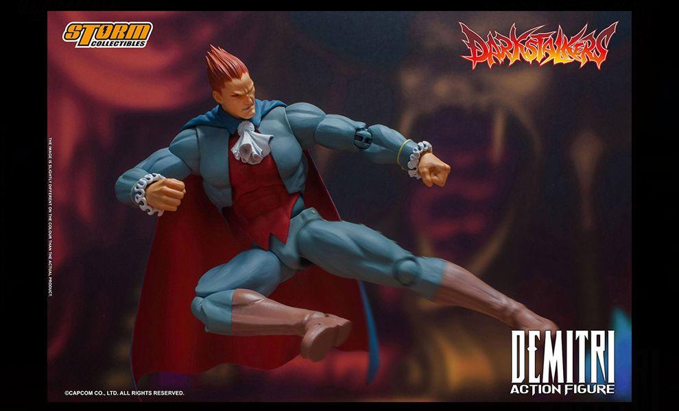 Darkstalkers Action Figure 1/12 Demitri Maximoff Banner