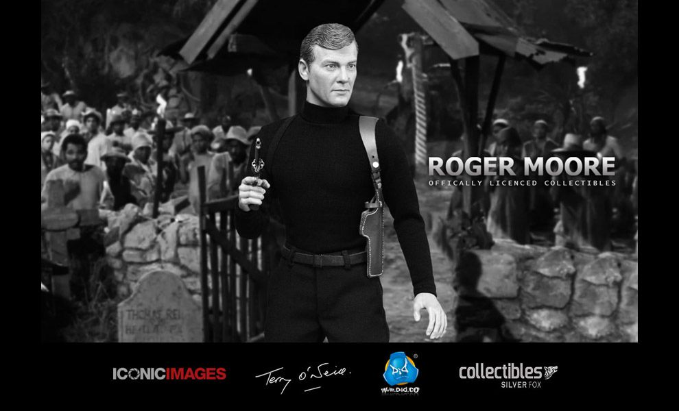 DID Corp RM001 Roger Moore 007 James bond action figure