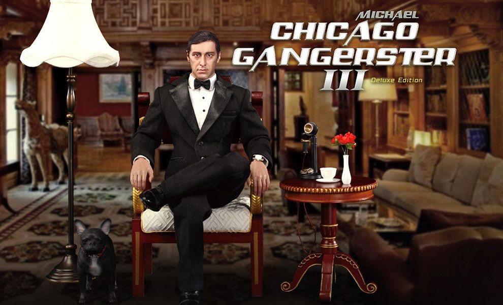 DID-T80128S-Chicago-Gangster-3.0-Michael-Corleone-The-Godfather-Part-II-Deluxe-Edition