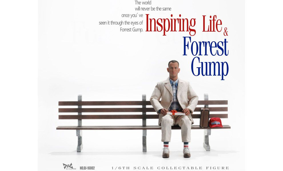 DJ-CUSTOM DJ-16002 Forrest Gump Tom Hanks Banner