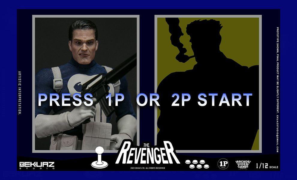 EKUAZ STUDIO EKS06 1/12 THE REVENGER THE PUNISHER ARCADE VIDEO GAMES SERIES Banner