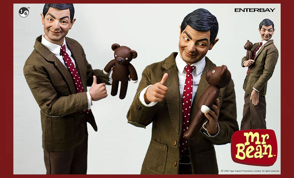 ENTERBAY-REAL-MASTERPIECE-1/6-SCALE-MR-BEAN-BANNER